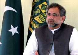 National security shouldn't be put at stake for political point-scoring, urges Prime Minister Shahid Khaqan Abbasi