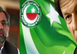 PTI demands resignation of Prime Minister Shahid Khaqan Abbasi