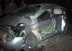 One dead, 10 injured in Qalat coach-car collision