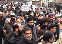 Tehreek-e-Hurriyat condemns continued detention of party activists in Indian occupied Kashmir