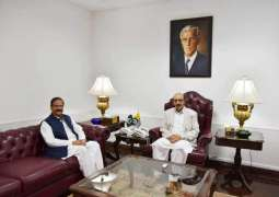 New Ajk Chief Secretary Calls On President Azad Kashmir