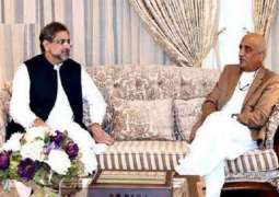 Caretaker PM still not finalized as meeting between Abbasi, Shah went undecided
