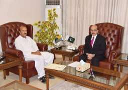 VC University of AJK calls on President Masood Khan
