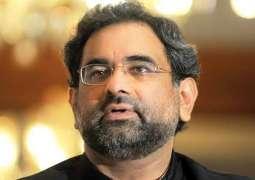 Musharraf, Zardari did not start any power projects in their tenure: Prime Minister Shahid Khaqan Abbasi
