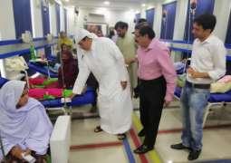 Mr. Saqr Bin Mubarak Al Mansouri visited Pakistan Thalassemia Center in Islamabad