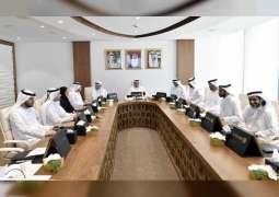 """مجلس دبي الرياضي يستعرض تقارير الحوكمة وأداء الأندية ومشروع """" دبي x 10 """""""