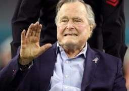 نقل الرئيس الأمريكي الأسبق بوش الأب للمستشفى بعد إصابته بهبوط ضغط الدم