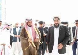 وكيل وزارة الشؤون الإسلامية يلتقي رئيس مجلس الشيوخ الأفغاني