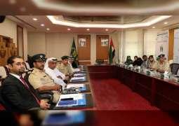 قائد شرطة دبي يترأس اجتماع اللجنة العليا لبرنامج حماية