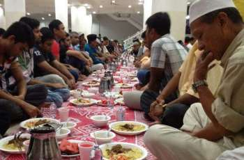 Trend of Iftar parties on rise