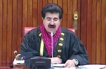 Chairmen of standing committees call on Acting President Sanjrani