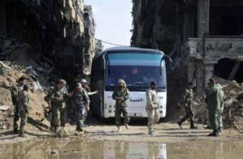 Syria army declares capital, outskirts 'completely secure'