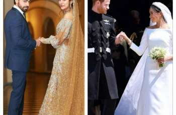 Post on Urwa Hocane's page gets bashed for comparing her wedding to Royal wedding