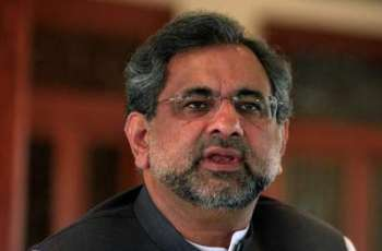 No external pressure but political consensus led to FATA merger legislation: Prime Minister Shahid Khaqan Abbasi