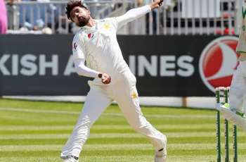Mohammad Amir removes England cornerstone Cook in first Test