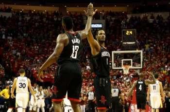 Rockets outlast Warriors, edge closer to NBA Finals