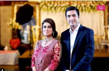 Anchor couple Iqrar ul Hassan and Farah Yousaf celebrate 6th anniversary