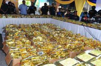 Malaysia makes record 1.2 tonne seizure of crystal meth