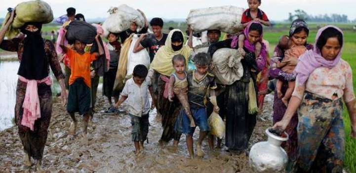 Myanmar says some Rohingya refugees returned voluntarily