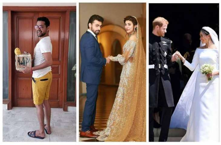 Ali Gul Pir takes 'Royal Wedding comparison' to another level showing love for mangoes
