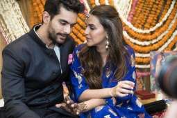 Bollywood Weddings: Neha Dhupia thanks everyone for wishes