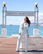 Cannes 2018: Mahira Khan poses outside Hotel Martinez in style