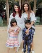Shilpa Shetty shares the frame with fellow mommy Aishwarya Rai on son's birthday party
