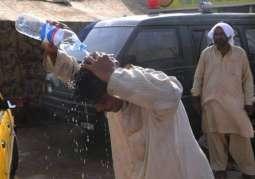 Temperature soars to 44 degree celsius in Faisalabad