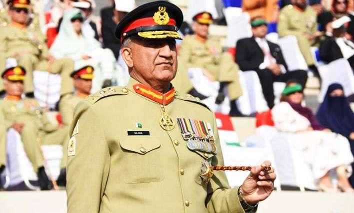 رئيس أركان الجيش الباكستاني : باكستان سترد بشكل فعال ومناسب على أي إجراء عدواني ضدها