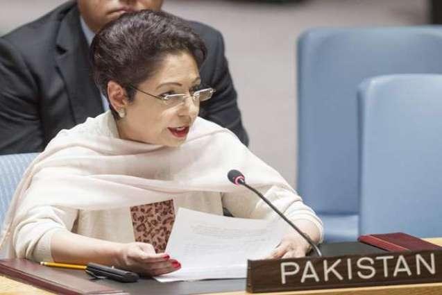 اقوام متحدہ ٹی پاکستان نا آخبتی مندوب ڈاکٹر ملیحہ لودھی نا اقوام متحدہ ٹی دیوان آن تران