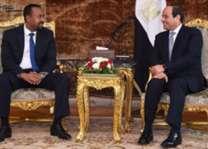 الرئيس المصري يجري في القاهرة مباحثات مع رئيس الوزراء الاثيوبي