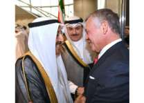 أمير الكويت وملك الأردن يبحثان آخر المستجدات الإقليمية والدولية