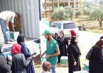 مركز الملك سلمان للإغاثة يواصل توزيع السلال الغذائية الرمضانية للاجئين السوريين في جبل لبنان