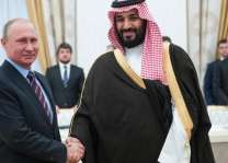 President of Russia receives Saudi Crown Prince