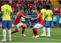 البرازيل تتعادل مع سويسرا ضمن المجموعة الخامسة بكأس العالم