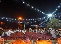 أهالي البكيرية يحتفلون بعيد الفطر المبارك