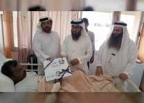 """""""دار البر"""" تسعد 100 مريض في """"مئوية زايد"""""""