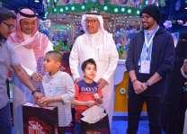 جمعية التوحد بتبوك تشارك الأطفال فرحتهم بالعيد
