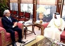 سفير دولة الإمارات العربية المتحدة لدى باكستان يلتقي رئيس الوزراء الباكستاني