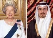 سمو ولي العهد يتلقى برقية تعزية من ملكة المملكة المتحدة