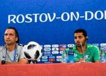 مدرب المنتخب السعودي : أمام المنتخب فرصة للفوز في مباراته مع الأوروجواي والمنافسة على أعلى المستويات