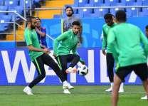 كأس العالم 2018: الأخضر يختتم تحضيراته لمواجهة الأوروجواي