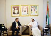 UAE Ambassador meets UN Resident and Humanitarian Coordinator in Lebanon