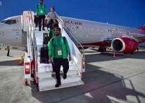 المنتخب السعودي يصل فولغوغراد لمواجهة مصر في ختام مشاركته بكأس العالم 2018