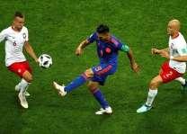 كأس العالم 2018 :المنتخب الكولومبي يفوز على نظيره البولندي 3 -0