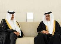 ولي عهد مملكة البحرين يستقبل سمو رئيس الهيئة العامة للسياحة والتراث الوطني