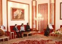 ملك البحرين يستقبل الأمير سلطان بن سلمان وضيوف الدورة الثانية والأربعين لاجتماع لجنة التراث العالمي
