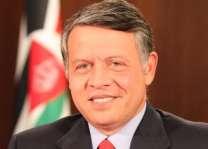 ملك الأردن يؤكد أهمية تحريك عملية السلام والتوصل إلى حل عادل ودائم للقضية الفلسطينية