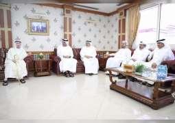 RAK Ruler receives GCC ambassadors' Ramadan greetings