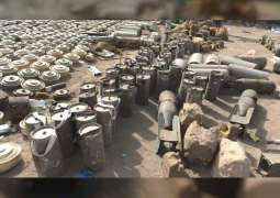 Joint Yemeni Resistance combing plantations in Al Hodeidah, locating large caches of Houthis' weaponry